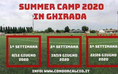 Summer Camp in Ghirada Edizione 2O2O